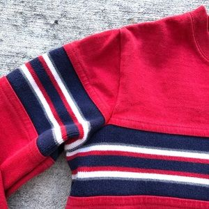 Hanna Andersson Shirts & Tops - Hanna Andersson Boys Red Striped Long Sleeve Tee